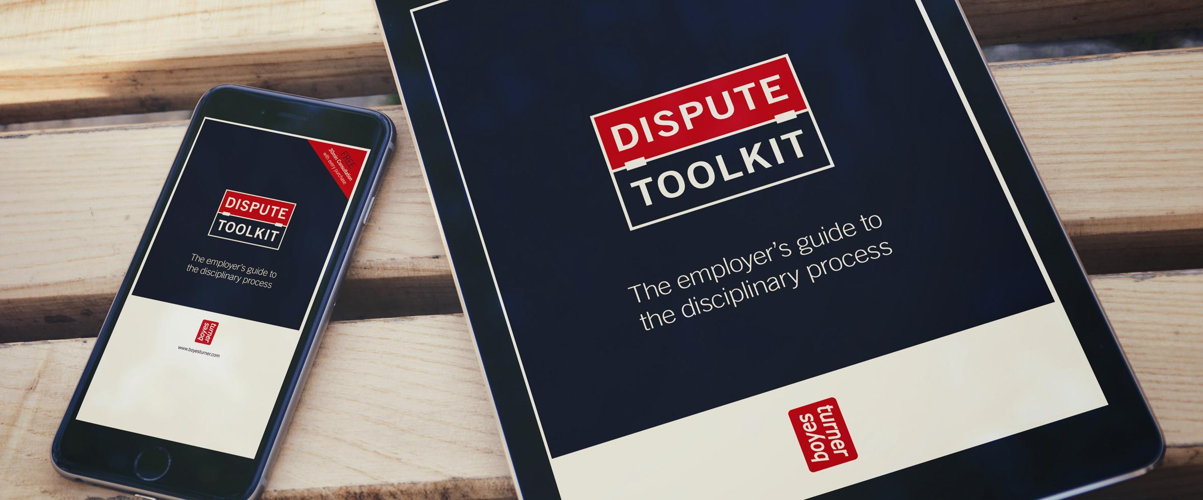 The Dispute Toolkit ebook from Boyes Turner