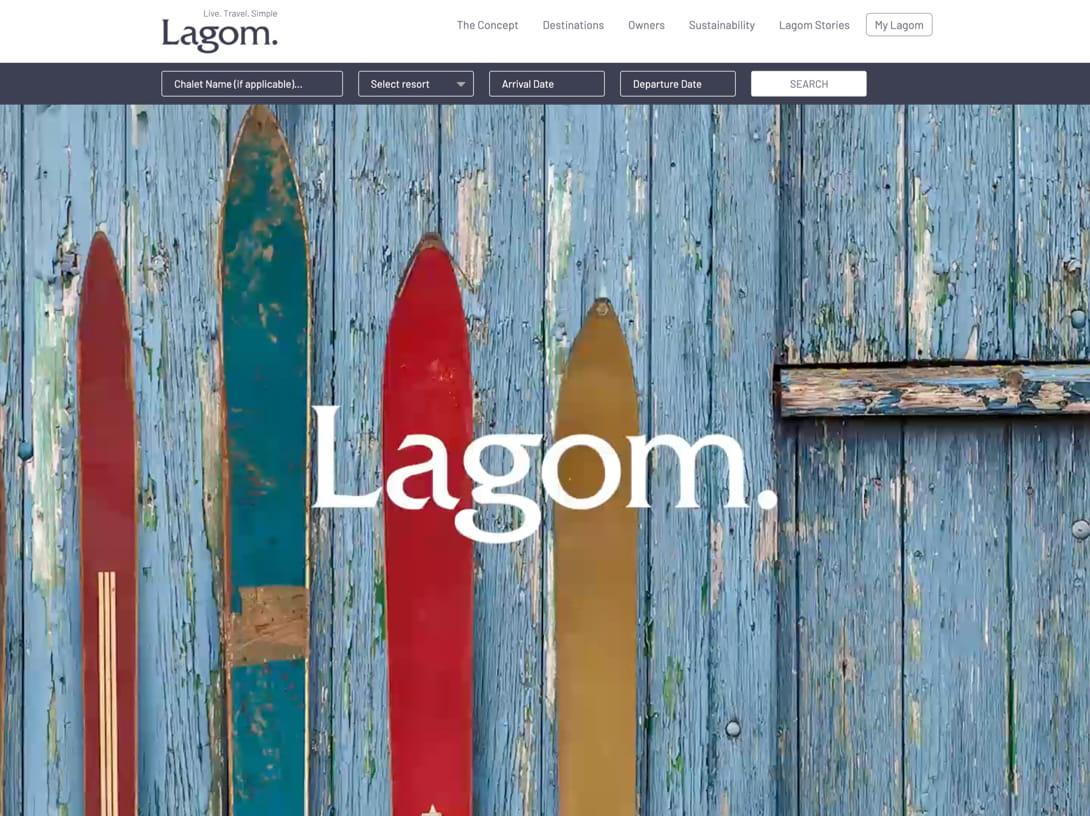 Luxury Travel Brand Design and Responsive Website Design